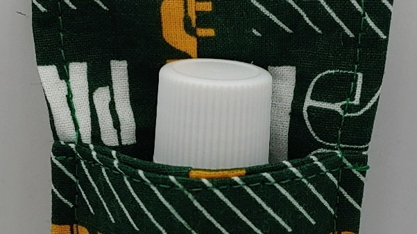 Green Bay Packers hand sanitizer holder