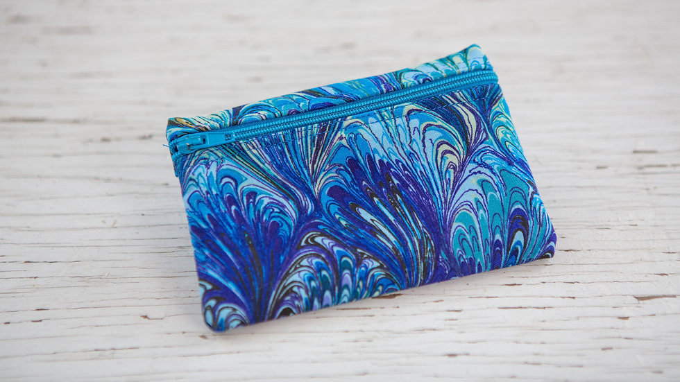 Royal and Cornflower EO Pouch