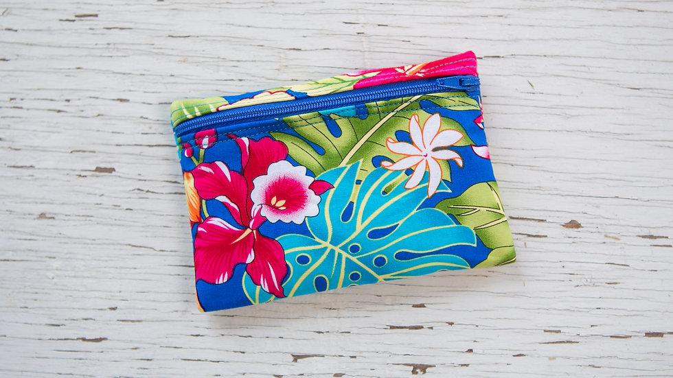 Caribbean Island Flowers EO Pouch
