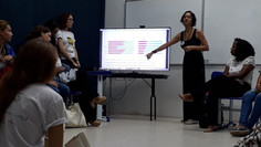 """Roda de conversa """"Mulheres nas ciências: desafios e perspectivas"""