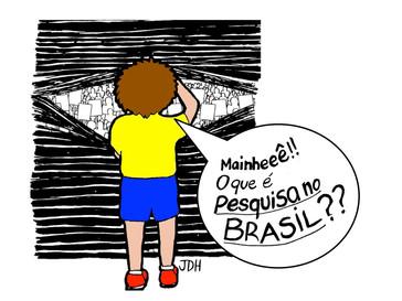 Fazer pesquisa no Brasil não é fácil - e a gente deve falar sobre isso