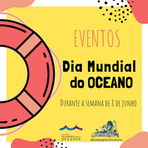 Eventos Dia Mundial do Oceano 2020