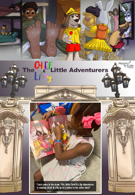 The Chief & Lilly Little Adventurers