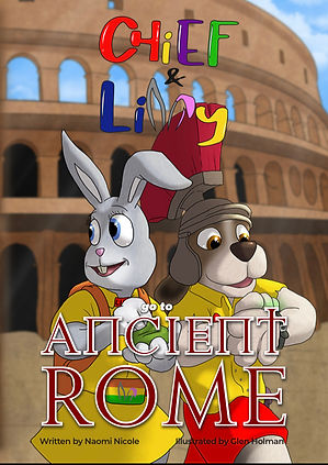 Chief & Lilly go to Ancient Rome