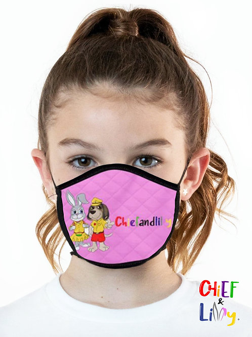 Chief & Lilly Face Mask - Pink