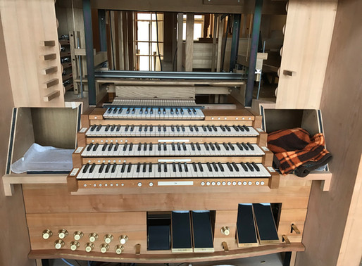 Werkstattbesuch bei der Orgelbaufirma Metzler