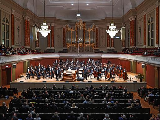 Glänzender Auftakt des ersten Orgelfestival im Stadtcasino Basel