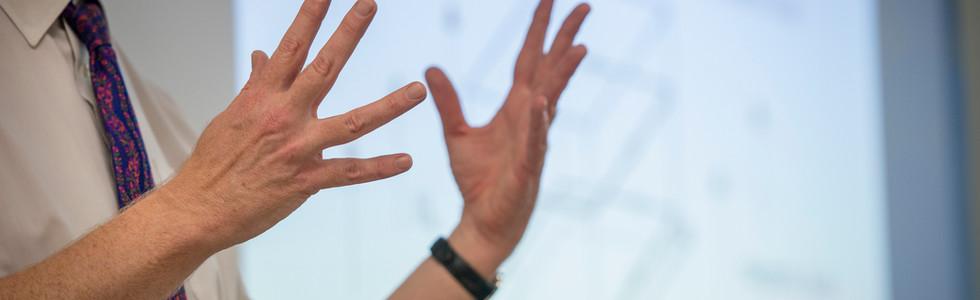 movimentos de mão