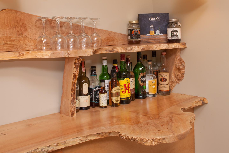 Becket House Custom Bar
