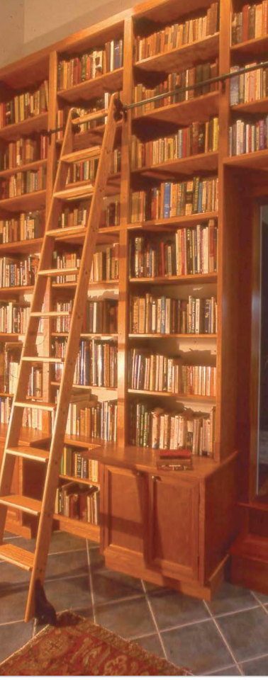 Hoffman House Custom Bookshelf