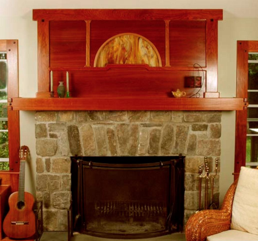 Hoffman House Fireplace