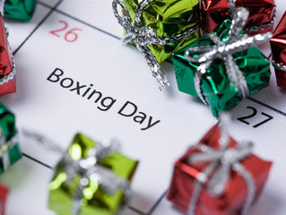 Boxing Day Blogging