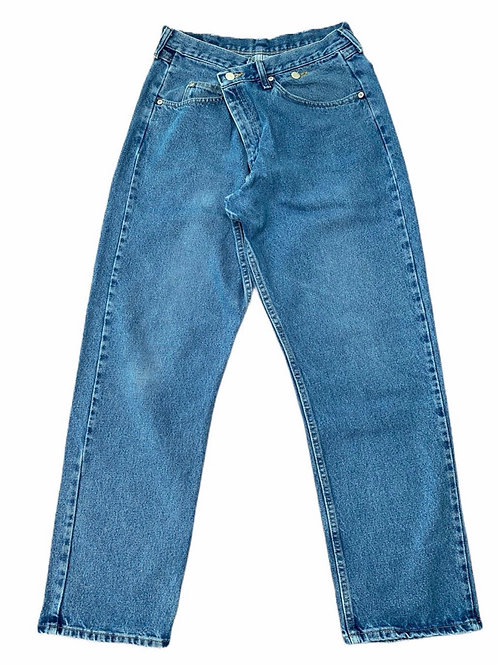 CROSS OVER REWORKED JEANS