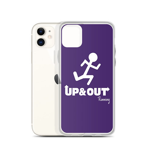 UP&OUT RUNNING iPhone Case