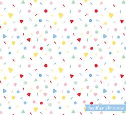 Rainbow Confetti Patterrn
