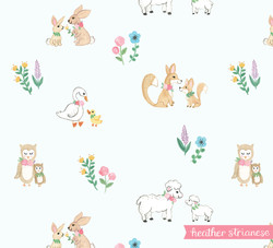 Mommy and Baby Animal Pattern