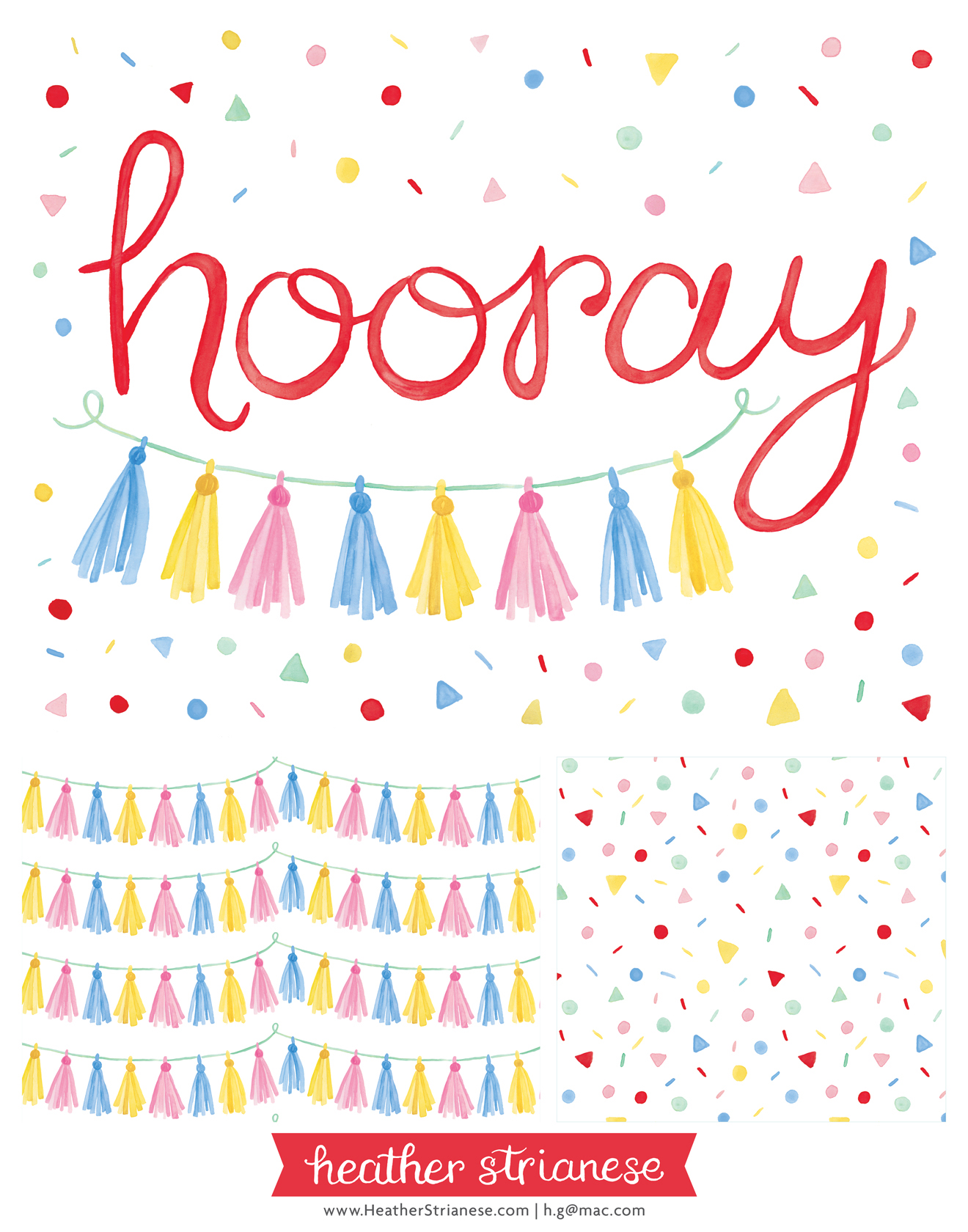Hooray Confetti