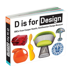 D is for Design Board Book