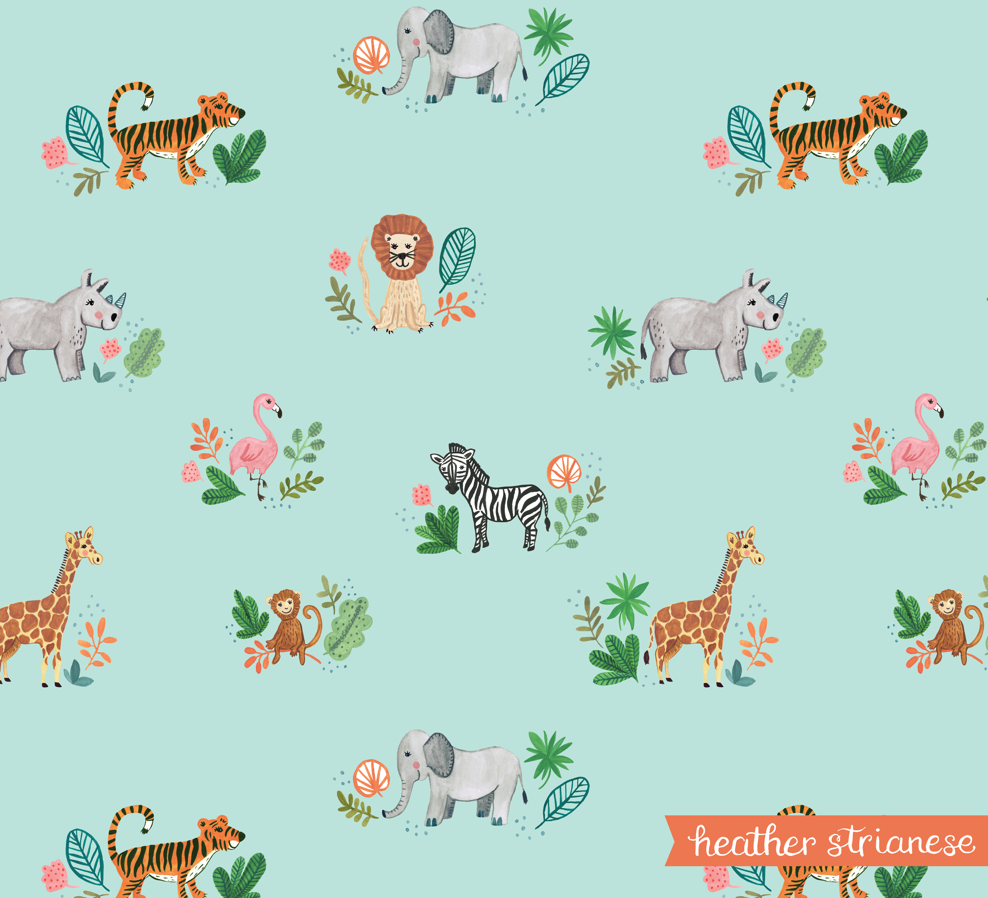 Wild Jungle Pattern