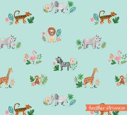Wild Jungle Pattern