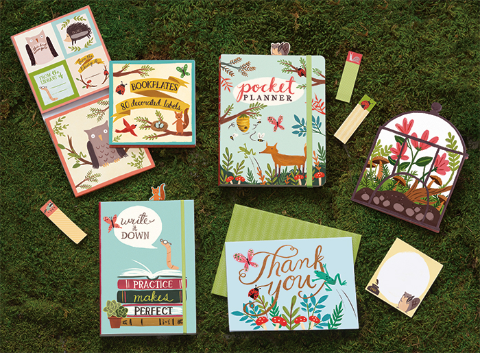 Forest Friends Stationery