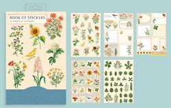 Jardin Botanique Book Of Stickers