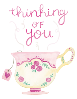 Thinking of You Teacup