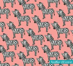 Zebra Tango Pattern