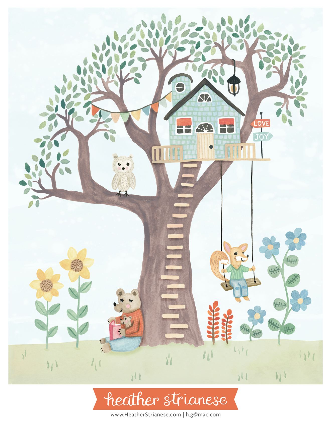 Woodland Treehouse