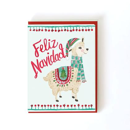 Holiday Llama Boxed Holiday Cards