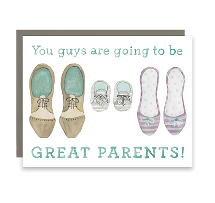 Great Parents Shoes Card