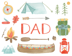 Adventure Camping Icons