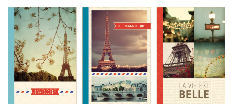 Paris Recycled Notebooks