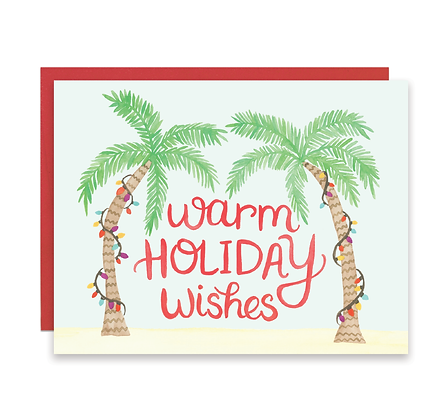 Palm Tree Holiday Cards
