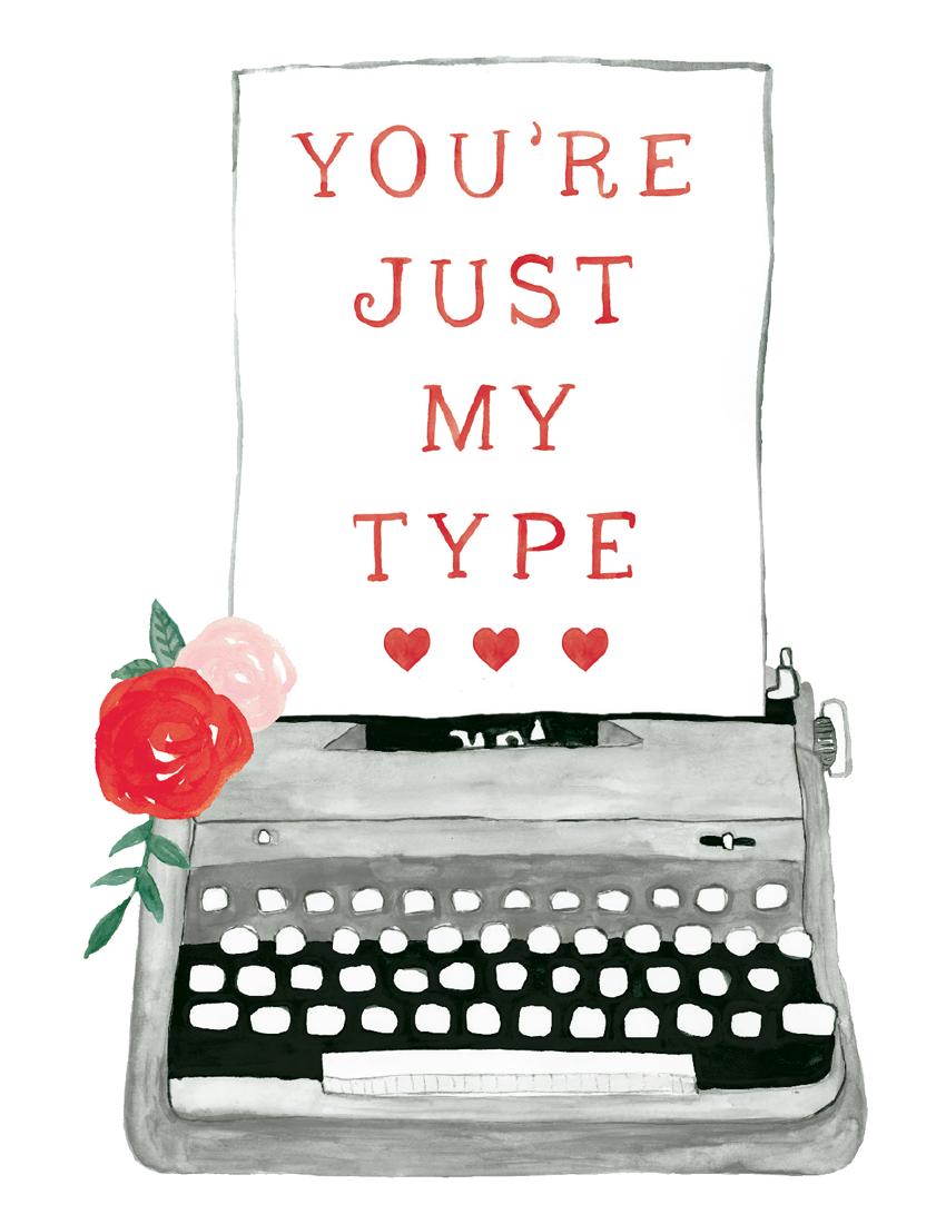 You're Just My Type Typewriter