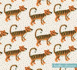Wild Jungle Tiger Pattern