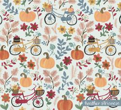 Fall Bike Pattern