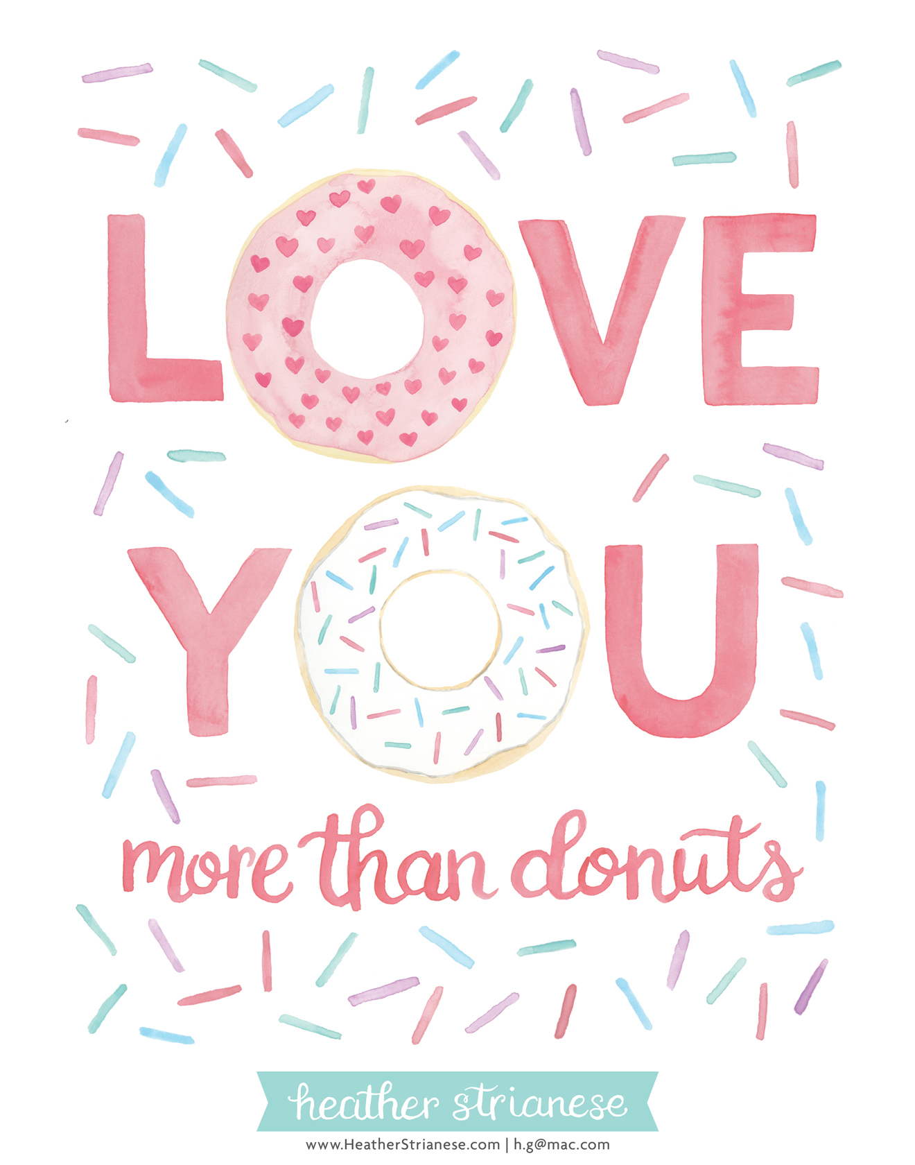 Love You More Than Donuts