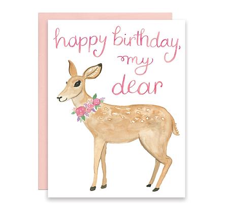Happy Birthday, My Dear Card