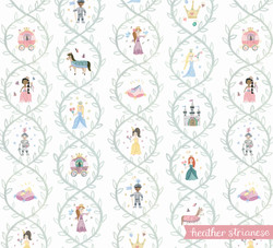 Princess and Vines Pattern