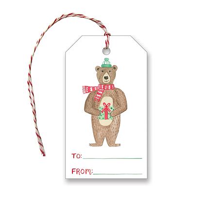Holiday Bear Gift Tags
