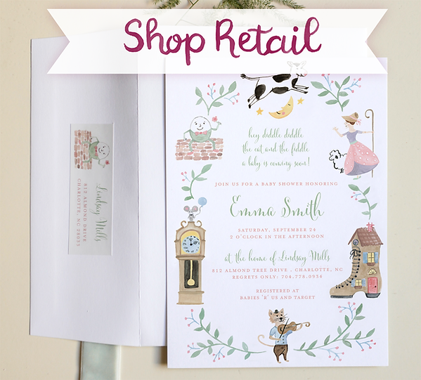 Shop Watercolor Shower Invitations