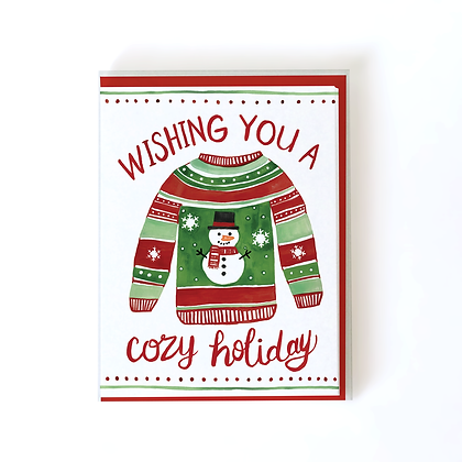 Holiday Sweater Boxed Holiday Cards