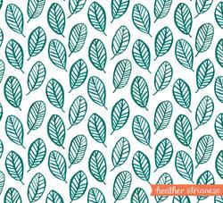 Jungle Leaves Pattern