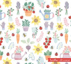 In the Garden Pattern