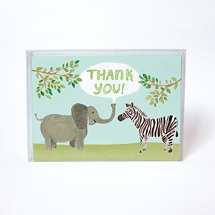 Safari Boxed Thank You Cards