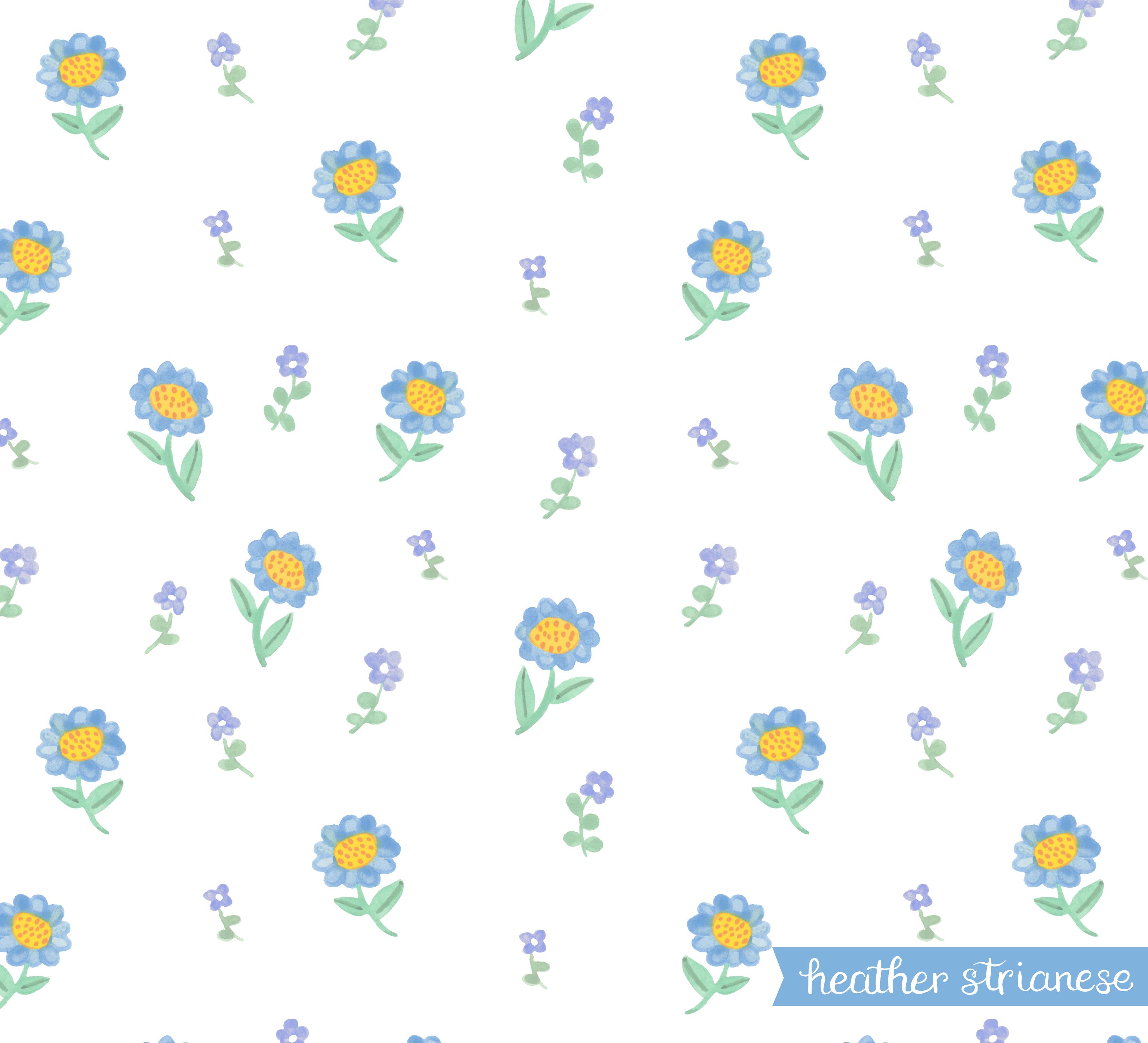Dainty Garden Floral Pattern
