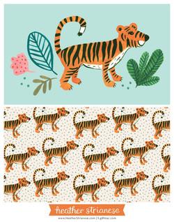 Wild Jungle Tiger