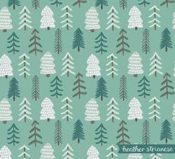 Holiday Trees Pattern