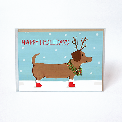 Holiday Dachshund Boxed Cards